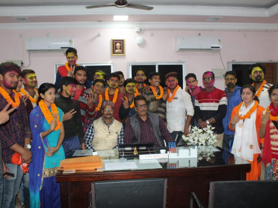 Ceremony of newly elected member of RCSC 2019-20 (2)